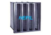 HACV Mini-pleat Activated Carbon Filter
