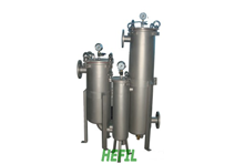 HJD-Stainless steel Single-bag Filter Panel-type
