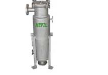 HJDA-Stainless steel Single-bag filter Concave cover-type