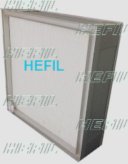 HMK Knife-edge Frame Mini pleat Panel Filter ULPA